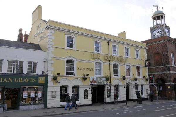 The Greyhound in Bridport, Dorset, England
