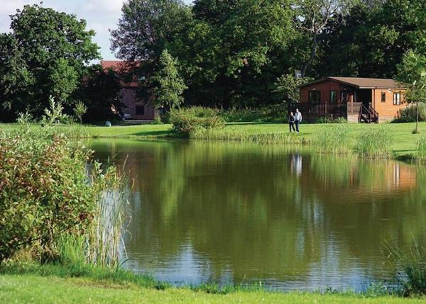 Paradise Lakeside Lodges in Wheldrake, North Yorkshire, England