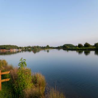 The Lakeside Lodge in Market Bosworth, Leicestershire, England