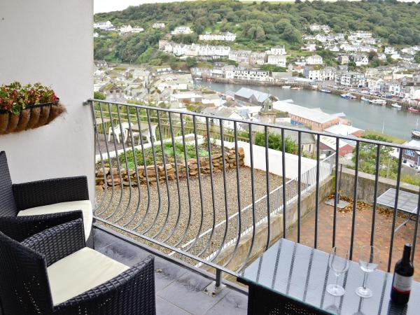Russell Court in Looe, Cornwall, England