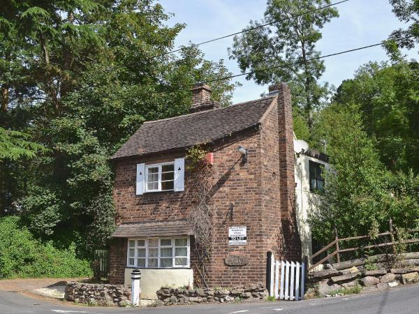 The Old Toll House in Coalport, Shropshire, England