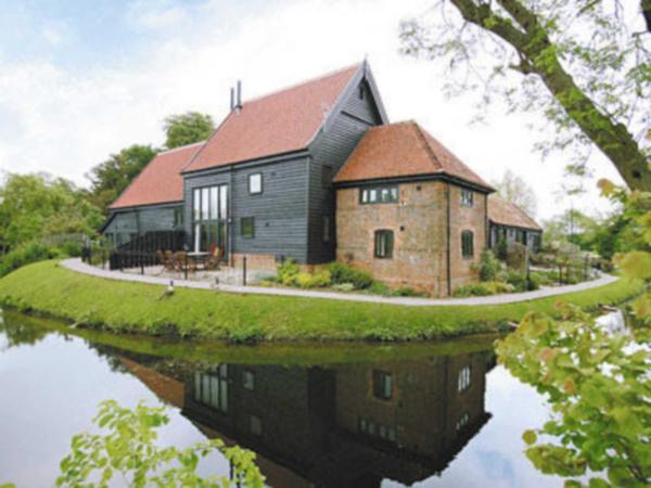 Tithe Barn in Wattisham, Suffolk, England