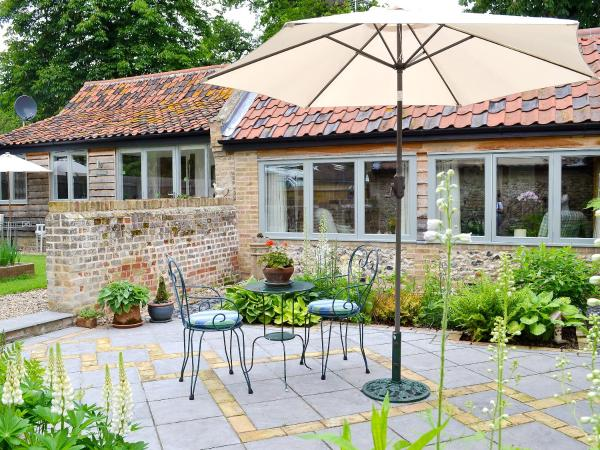 Garden Cottage in Risby, Suffolk, England