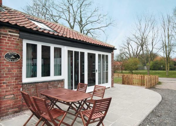 River Cottage II in Wainfleet All Saints, Lincolnshire, England