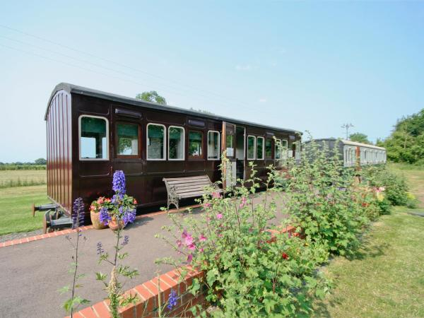 Railway Carriage One in Occold, Suffolk, England