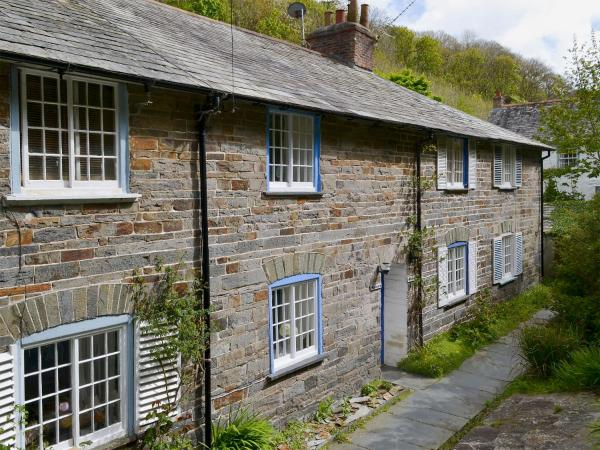 Mariners Cottage in Boscastle, Cornwall, England