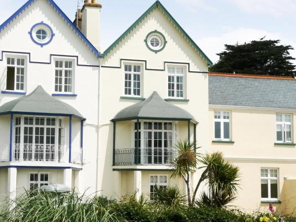 The Captains House in Instow, Devon, England