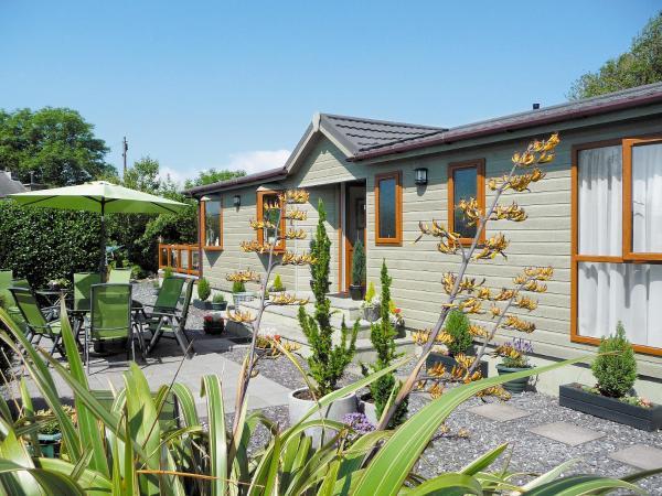 Parc Lodge in Criccieth, Gwynedd, Wales