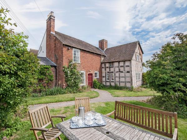 Cronkhill Farmhouse in Wroxeter, Shropshire, England
