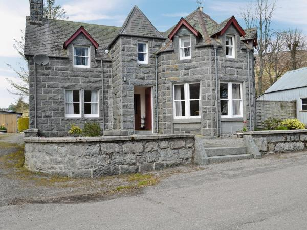 The Old Post Office in Rogart, Highland, Scotland