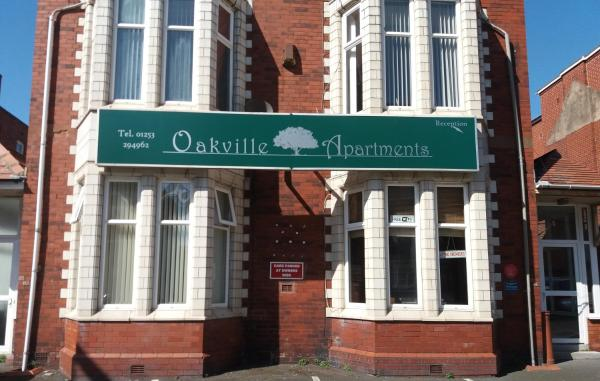 Oakville Apartments in Blackpool, Lancashire, England