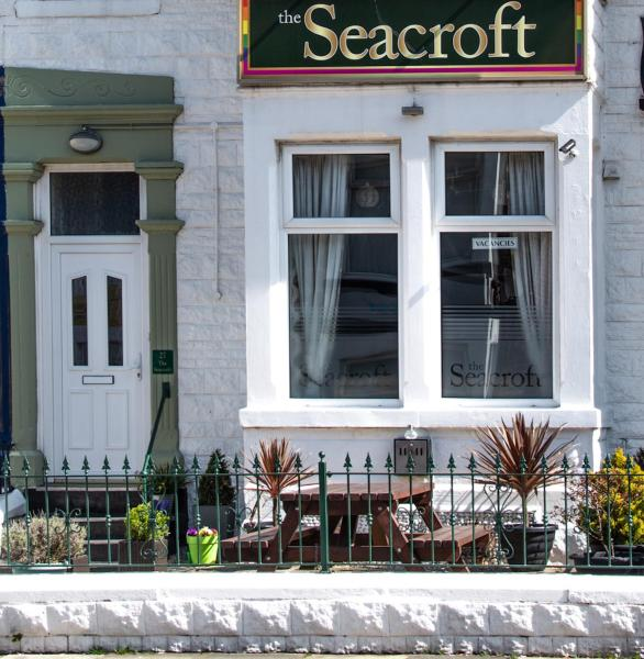 The Seacroft Guesthouse in Blackpool, Lancashire, England