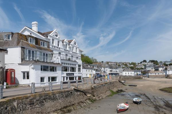 Ship and Castle Hotel in Saint Mawes, Cornwall, England