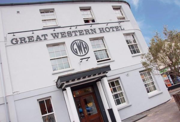 Great Western Hotel in Exeter, Devon, England