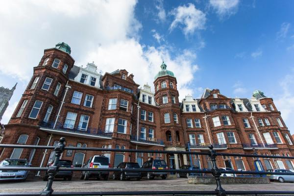 Hotel De Paris in Cromer, Norfolk, England