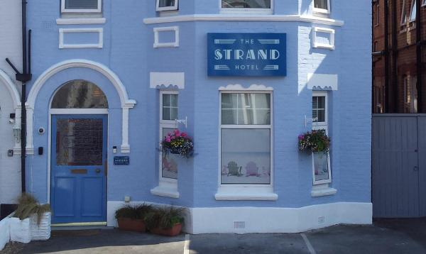 The Strand Hotel in Bournemouth, Dorset, England