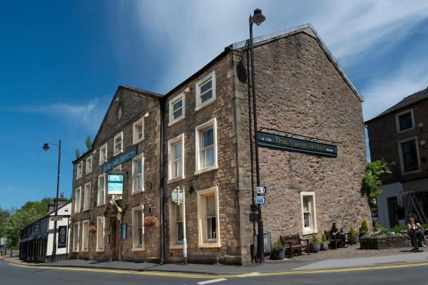 The Swan Hotel in Whalley, Lancashire, England