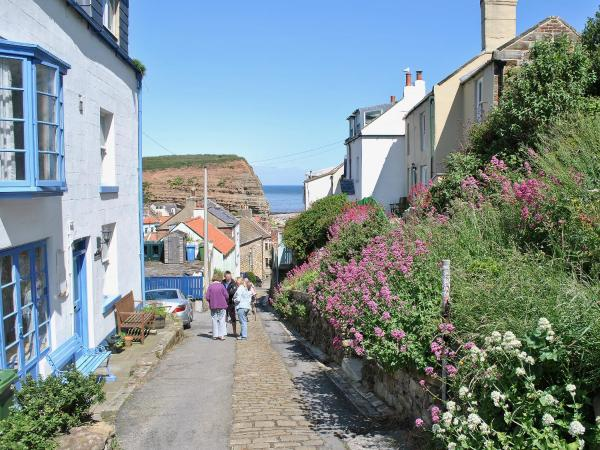 Felicity Cottage in Staithes, North Yorkshire, England