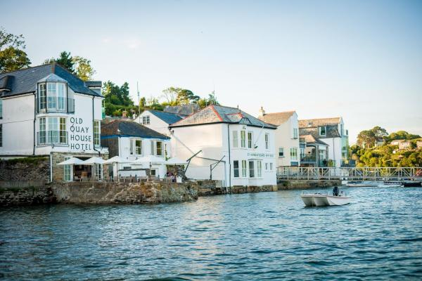The Old Quay House Hotel in Fowey, Cornwall, England