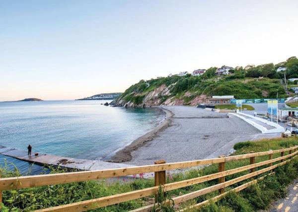 Black Rock Beach Resort in Looe, Cornwall, England