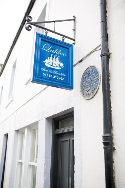 Lahloo Bed and Breakfast in Anstruther, Fife, Scotland