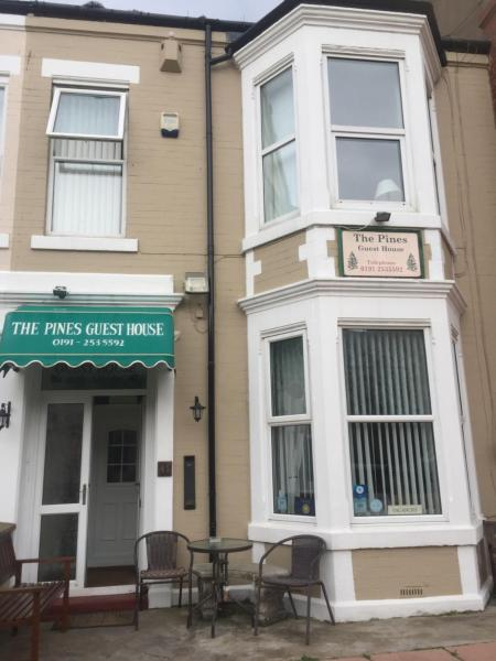 The Pines Guest House in Whitley Bay, Tyne & Wear, England