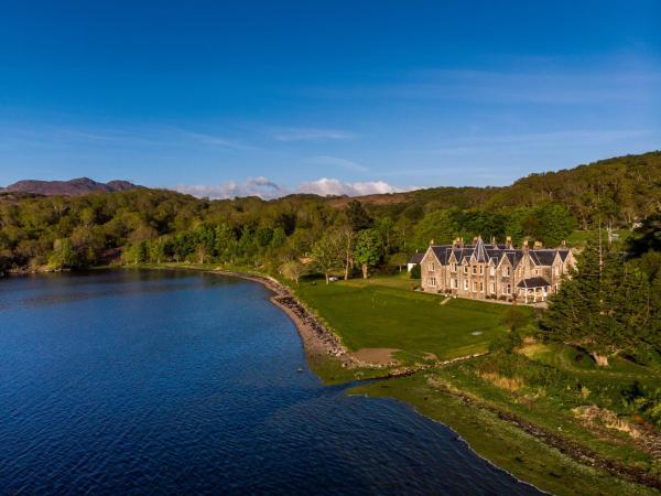 Shieldaig Lodge Hotel in Gairloch, Highland, Scotland