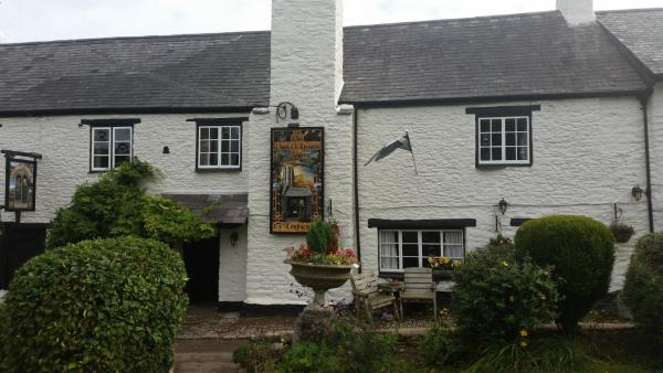 Old Church House Inn in Newton Abbot, Devon, England