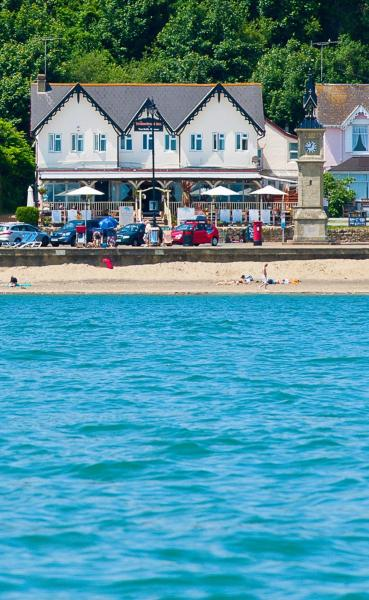 The Waterfront in Shanklin, Isle of Wight, England