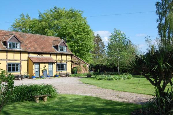 Litmarsh Farm Cottages in Bodenham, Herefordshire, England