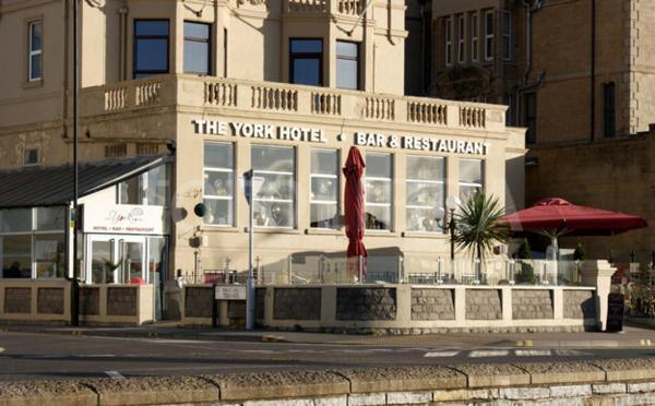 The York Hotel in Weston-super-Mare, Somerset, England