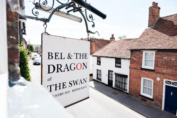 Bel and The Dragon in Kingsclere, Hampshire, England