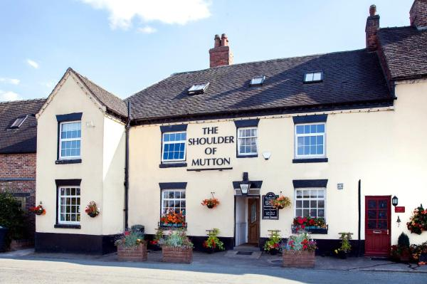 The Shoulder Of Mutton Inn in Hamstall Ridware, Staffordshire, England