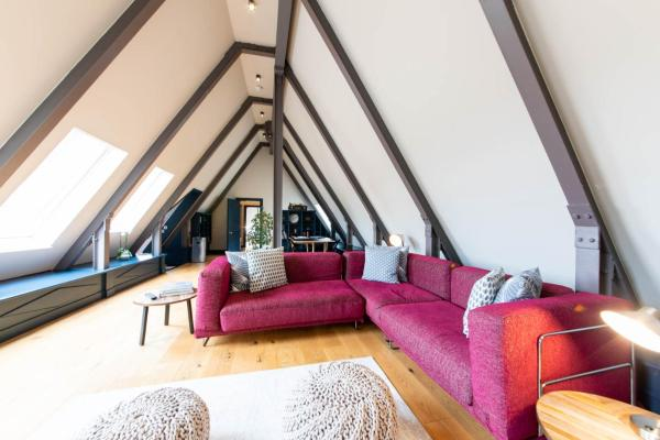 The Attic Flat in Edinburgh, Midlothian, Scotland