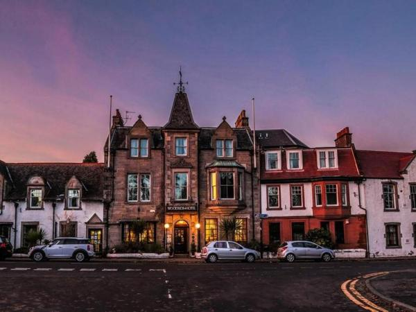 The Woodside Hotel in Aberdour, Fife, Scotland