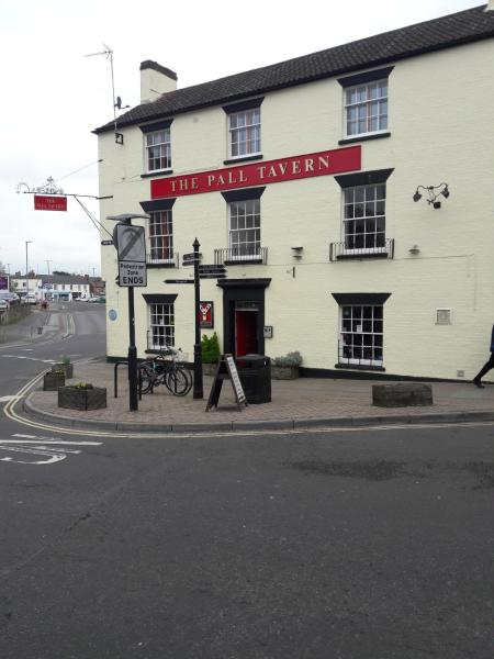 The Pall Tavern in Yeovil, Somerset, England