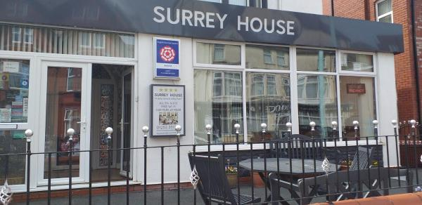 Surrey House Hotel in Blackpool, Lancashire, England