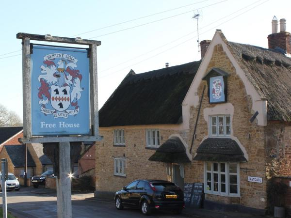 The Bewicke Arms in Hallaton, Leicestershire, England