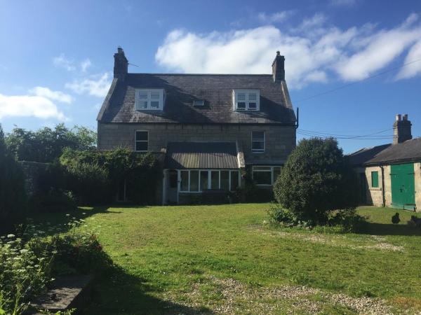 Silverdale Farm House in Rothbury, Northumberland, England