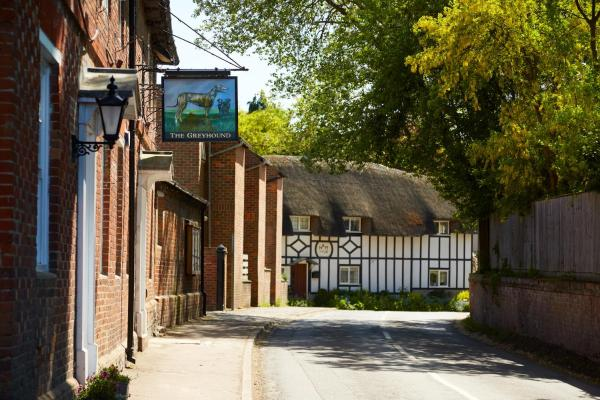 The Greyhound Inn in Wantage, Oxfordshire, England