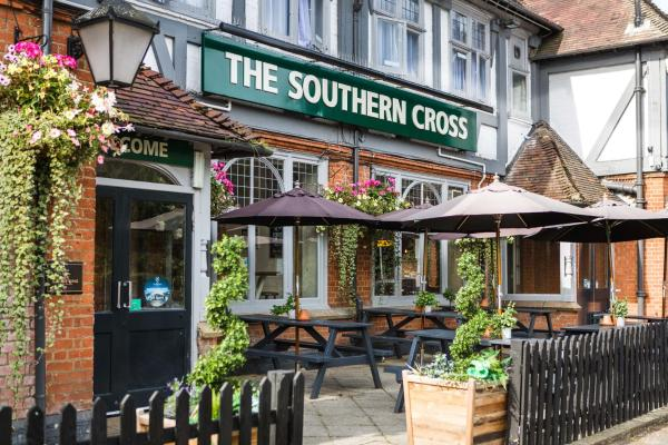 Southern Cross in Watford, Hertfordshire, England