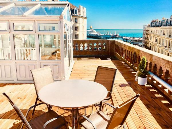 The Roof Garden in Eastbourne, East Sussex, England