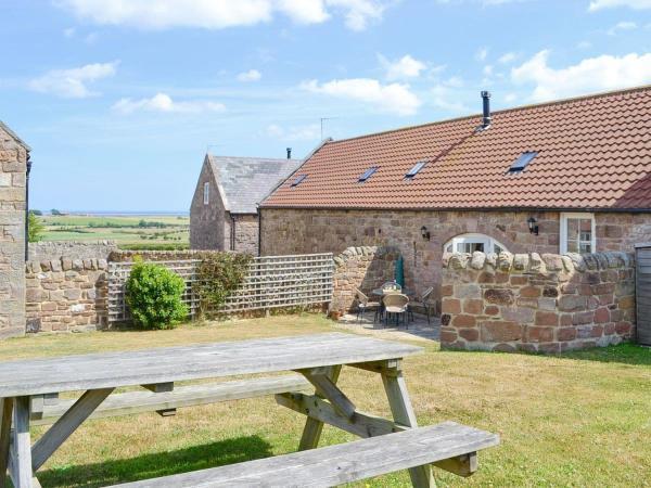 Honeysuckle Cottage in Beal, Northumberland, England
