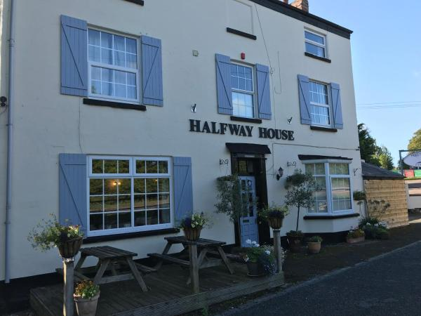 Halfway House Inn in Great Malvern, Worcestershire, England