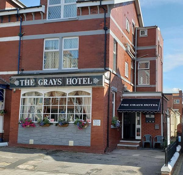 The Grays in Blackpool, Lancashire, England