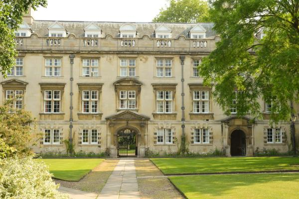Christs College Cambridge in Cambridge, Cambridgeshire, England