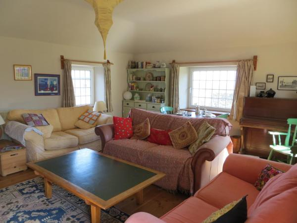 Borea Barn Vegetarian B&B in St Ives, Cornwall, England