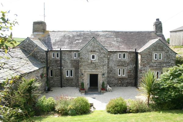 Reddivallen Farmhouse in Boscastle, Cornwall, England