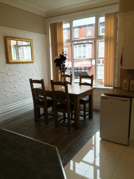 Somerset House Apartments in Blackpool, Lancashire, England