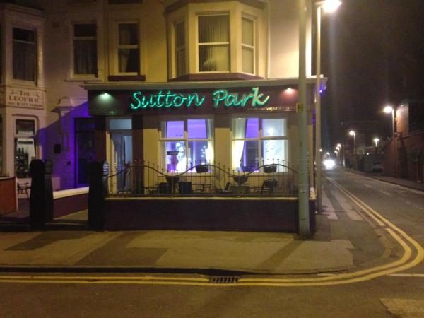 Sutton Park Guest House in Blackpool, Lancashire, England